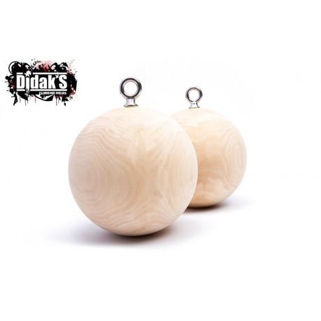 Wood Dragon Balls 15cm
