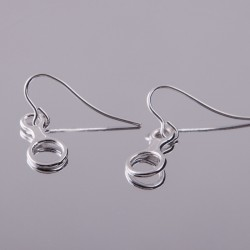 Earrings - Figure of eight