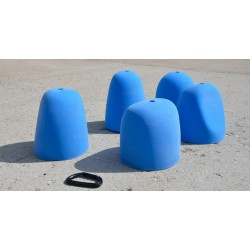 Teal - Big Tall Round Slopers