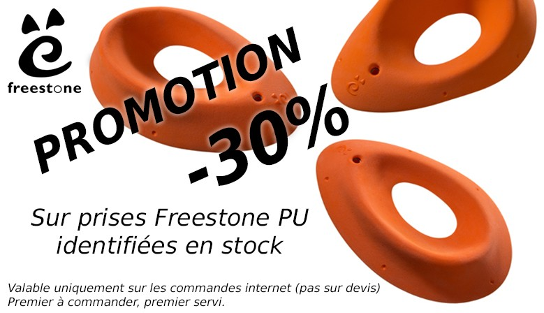 Freestone - Sales 30% on Freestone (PU) holds