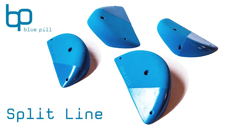 Blue Pill Split Grip Line