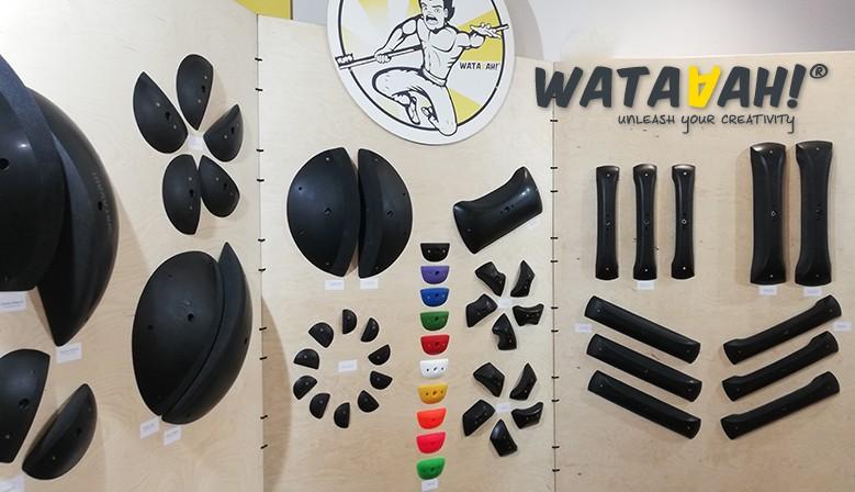 Prises d'escalade Wataaah double texture