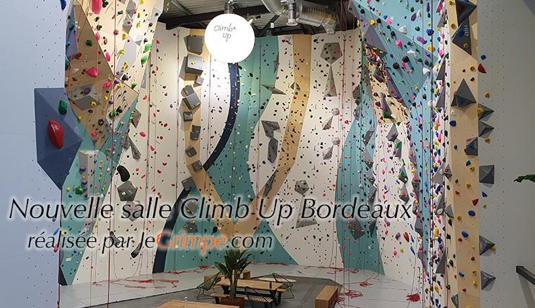 Salle d'escalade Climb Up Bordeaux Roc Altitude construite par Grimpomania / JeGrimpe.com
