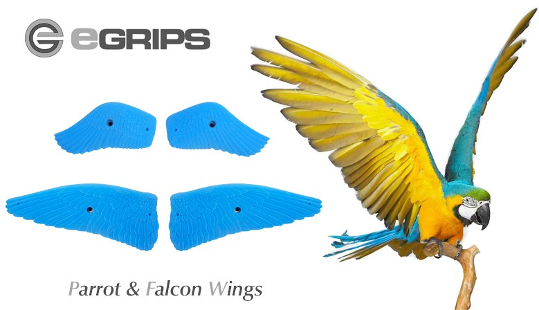 eGrips Parrot & Falcon Wings