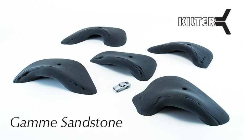 New Kilter climbing holds Sandstone range